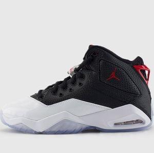Air Jordan B Loyal Black White Basketball Shoes